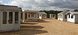 Garden Sheds and Buildings at our Norfolk Show Site