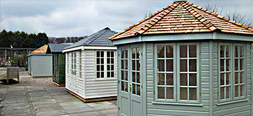 Garden Sheds and Buildings at our Nottinghamshire Show Site