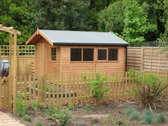 The perfect potting shed for Gardening tools uckfield