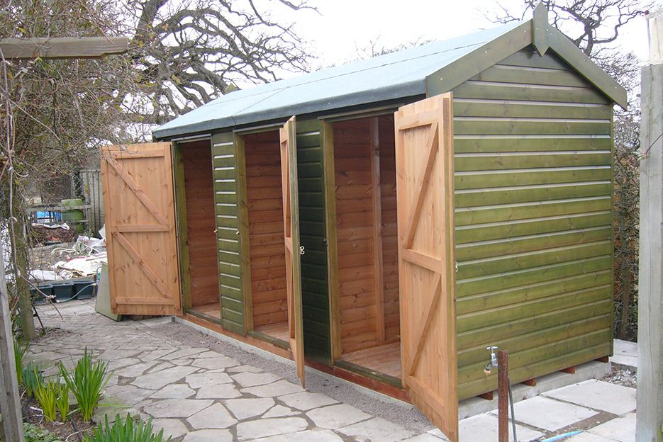 Garden Sheds And Summerhouses blakeney chalet summerhouse with free delivery & installation
