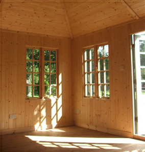 Summerhouse Lining and Insulation